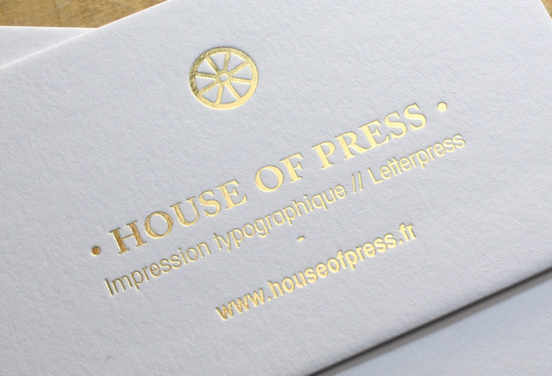 Marquage Chaud House Of Press