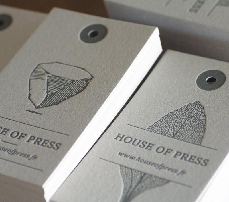 carte de visite house of press. Black Bedroom Furniture Sets. Home Design Ideas